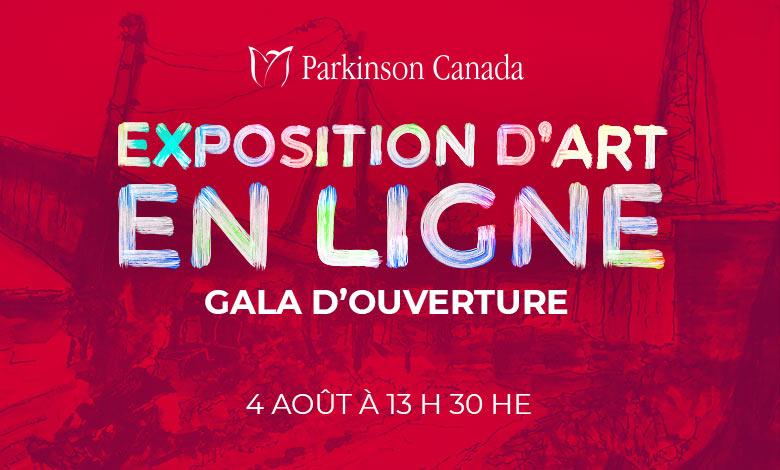 En ligne exposition d'art gala d'ouverture